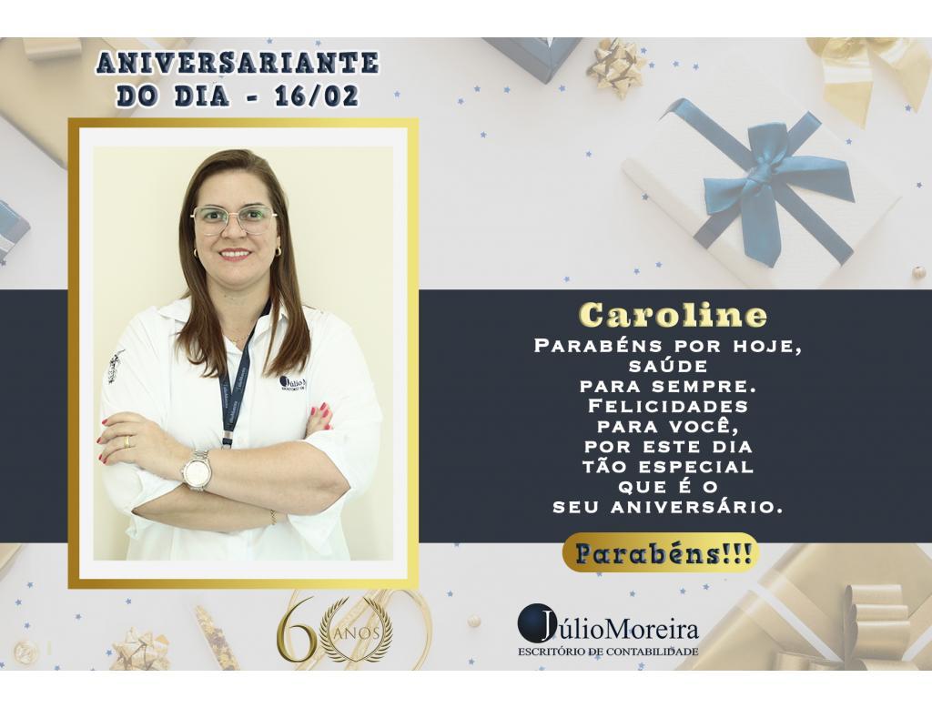 Aniversariante do Dia: Diretora Caroline Resende