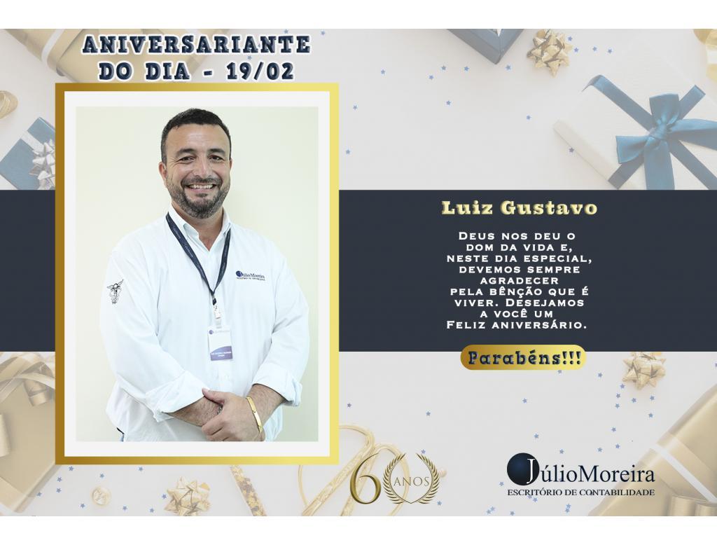 Aniversariante do dia: Luiz Gustavo
