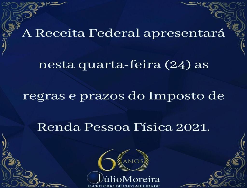 Coletiva da Receita Federal - Quarta feira 24/02 às 15h.