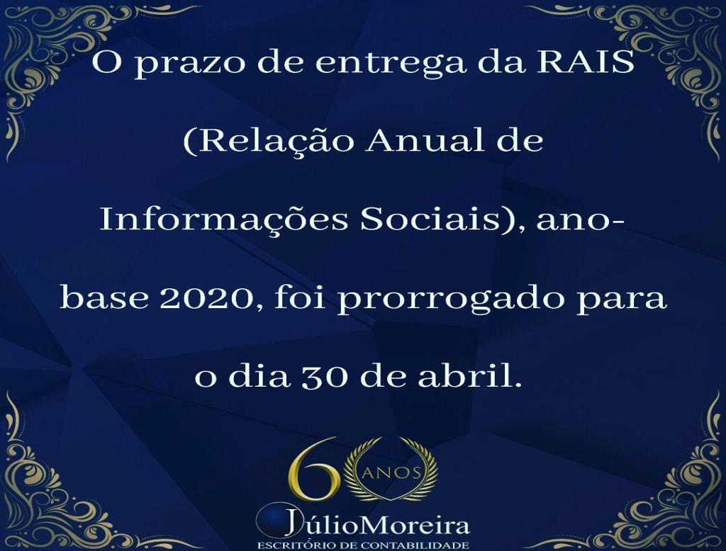 A RAIS é uma obrigação anual