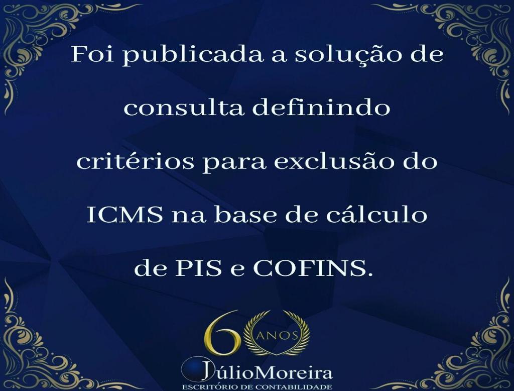 O montante a ser excluído da base de cálculo mensal da contribuição é o valor mensal do ICMS